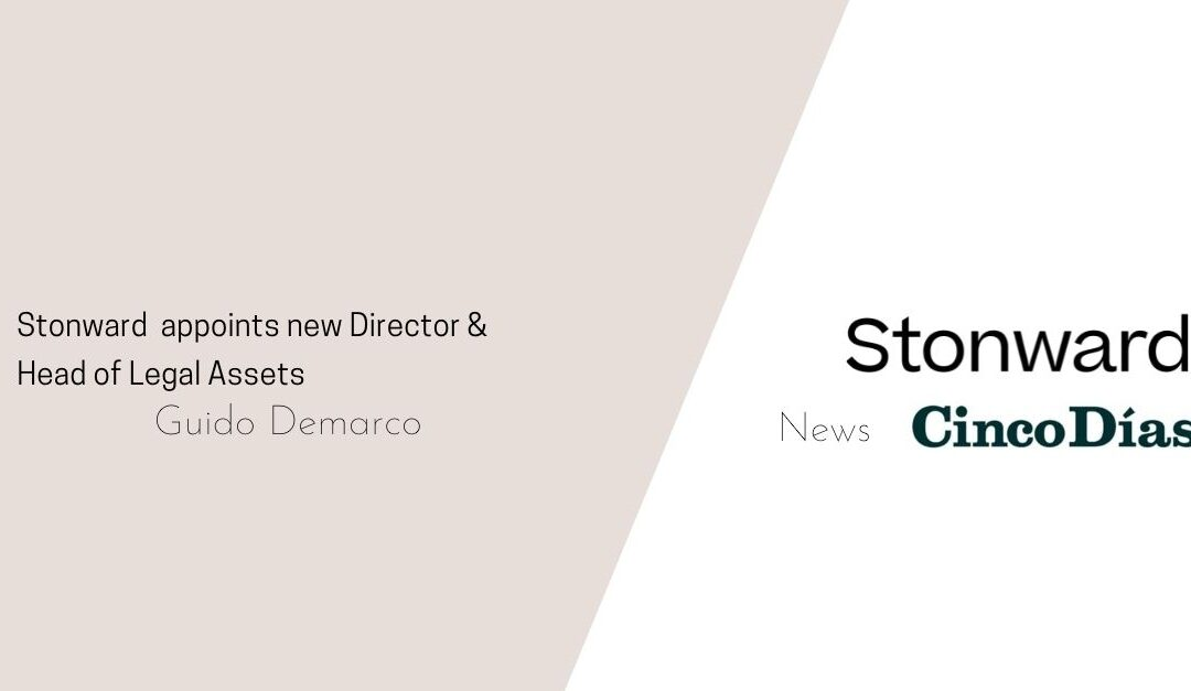 Newspaper Cinco Días publishes the news of Guido Demarco as new Director of Stonward